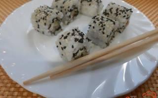 Суши с форелью