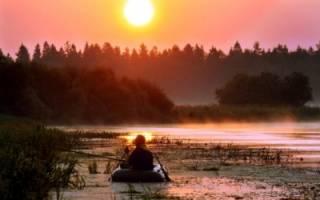 Рыбалка в августе на реке