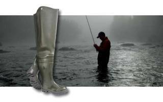 Сапоги болотники для рыбалки