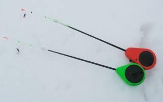 Зимняя рыбалка на безмотылку
