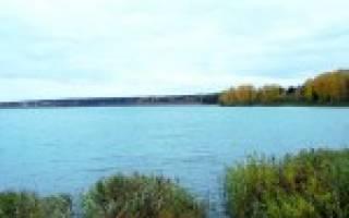 Круглое озеро рыбалка