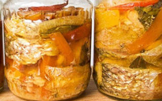 Скумбрия с овощами на зиму рецепты консервированная на зиму