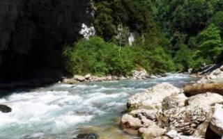Рыбалка в абхазии на реках
