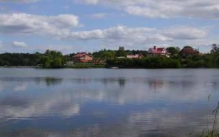 Красное озеро рыбалка