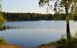 Рыбалка на медном озере