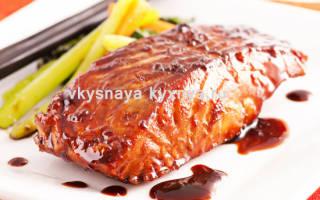 Рыба в соевом соусе в духовке