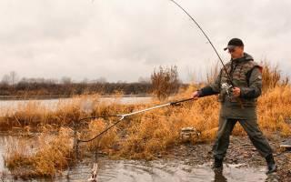 Рыбалка в октябре на урале