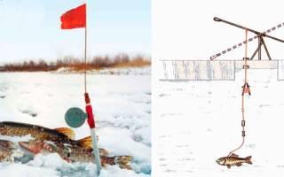Как сделать флажки для рыбалки
