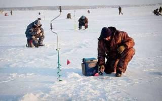 Рыбалка на озере урефты