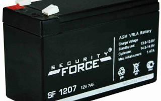Аккумулятор для эхолота 12 вольт какой лучше