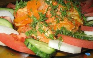 Рыба по немецки рецепт