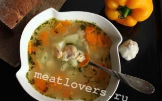Суп из хвоста семги