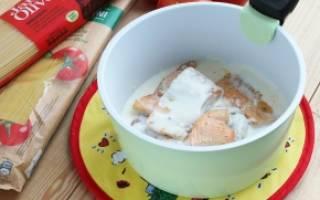 Форель в духовке в сливочном соусе