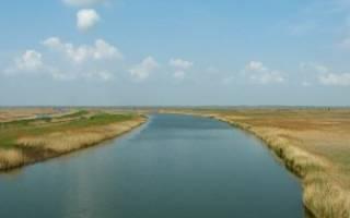 Рыбалка на реке маныч