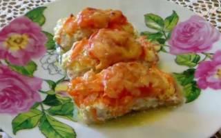 Красная рыба в духовке с сыром