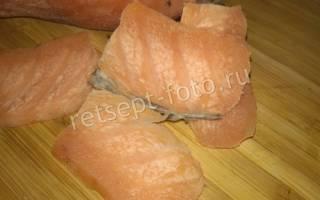 Засолка рыбы с водкой