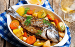 Рыба в духовке в фольге с картошкой