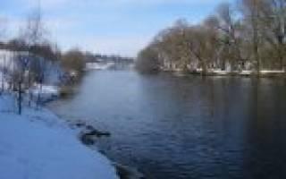 Рыбалка на реке десна