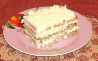 Закусочный торт с сардиной
