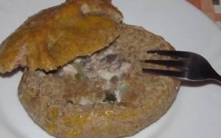 Пирог с толстолобиком