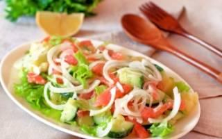Салат из копченой форели
