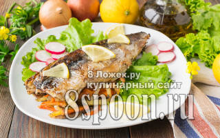 Сколько запекать рыбу в духовке в фольге