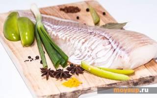 Рыбный салат из отварной трески