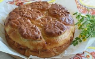 Пирог с горбушей простой и быстрый