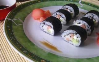Суши из горбуши
