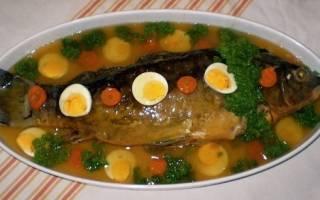 Рыба фаршированная по одесски