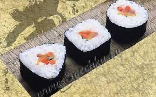 Роллы с тунцом