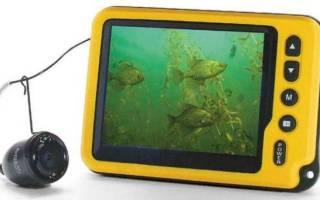 Самодельная подводная камера для рыбалки